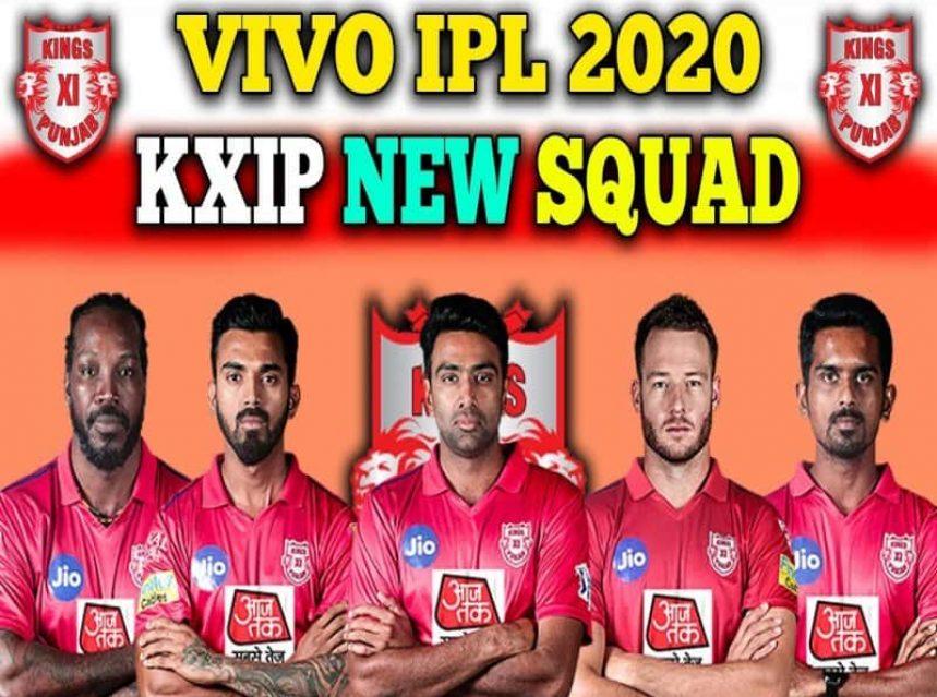 Kings Xi Punjab 2020 Players List Kxip Squad Ipl Cricket Match